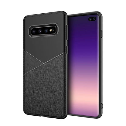 Picture of Samsung Galaxy Note 10 Pro/Note 10/S10 Plus/S10 Lite Phone Cover Business Classic Soft Case-Size: Samsung Note 10 Pro