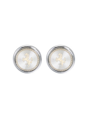 Picture of Men's Cufflinks Golden Horse Chic Fashion All Match Cuff Buttons Accessory