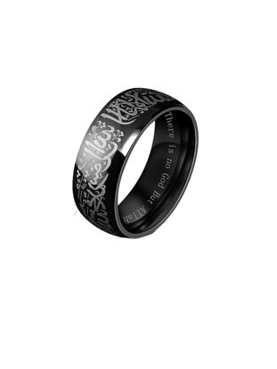 Picture of Men's Ring Retro Style All Match Fashion Religious Jewelry Accessory - Size: 8