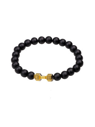 Picture of Men's Bracelet Beads Brief All Match Lovers' Bracelet Accessory - Size: One Size