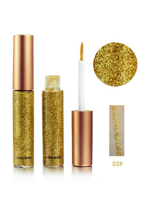 Picture of Women's Glitter Liquid Eyeliner High Shimmer Colorful Waterproof Attracting Eye Liner Makeup
