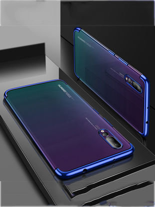 Picture of Huawei P20 Pro Phone Case Ultra Thin Soft Electroplated Shockproof Back Cover - Size: Huawei P20 Pro