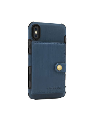 Picture of iPhone Cover Business Shockproof Phone Case With Card Slot - Size: IPHONE 7Plus