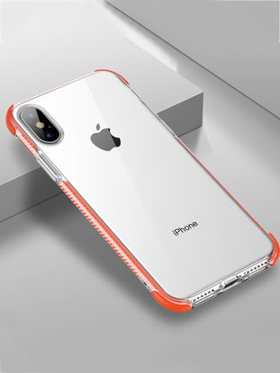 Picture of iPhone Case Full Protection Shatter-Resistant TPU Cover - Size: iPhone XR