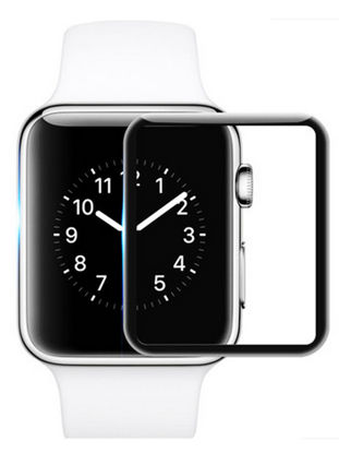 Picture of 3D Full Edge Tempered Glass Screen Protector Guard Film For Apple Watch Series