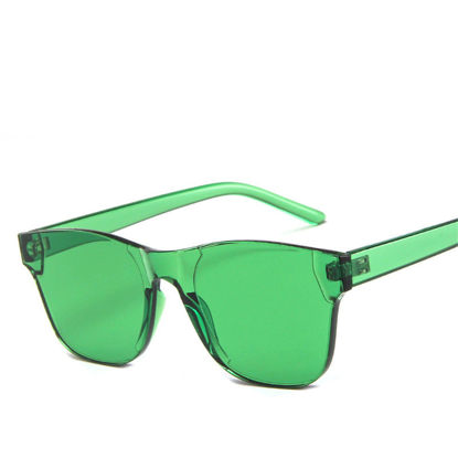 Picture of Men's Sunglasses UV Protection Solid Color Fashion Eyewear - Size: One Size