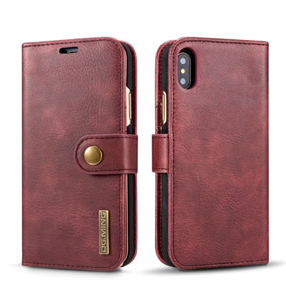 Picture of iPhone Cover Business Multi-functional Wallet Case - Size: iPhone XR