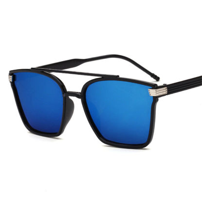 Picture of Men's Sunglasses UV Protection Square Frame Eyewear - Size: One Size