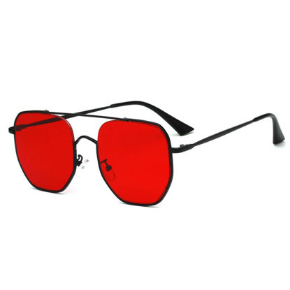 Picture of SAN VITALE Men's Sunglasses Polarized Hollow Out Metal Frame Accessory - Size: One Size