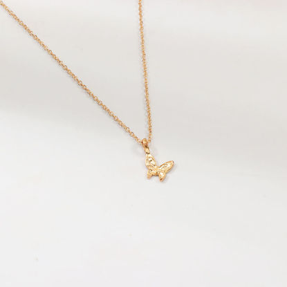 Picture of Women's Fashion Necklace All Match Butterfly Design Necklace Accessory - Size: One Size