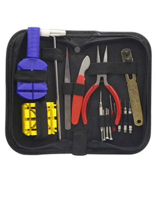 Picture of 16 Pcs Multi-functional Watch Repair Tools Set Watch Link Pin Remover Tool