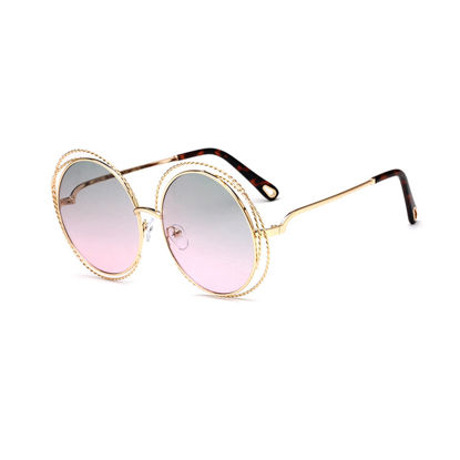 Picture of Women's Sunglasses Anti-UV Metal Vogue Eyewear Accessory - Size: One Size