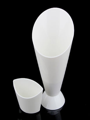 Picture of French Fries Holder Ketchup Dipping Cone Cup Veggies Snacks Holder - Size: One Size