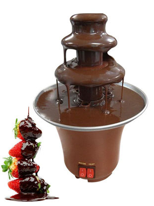 Picture of 1Pc Chocolate Fountain Chocolate Melting Tower Machine - Size: One Size