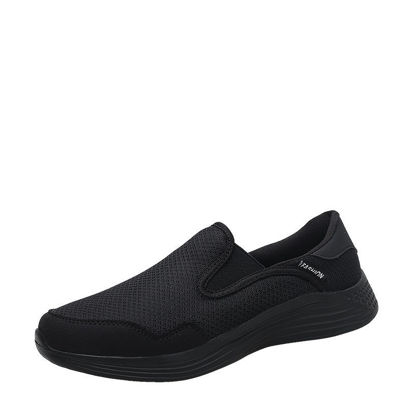 Picture of Men's Walking Shoes Anti-skidding Breathable Cozy Leisure Shoes - Size: 42