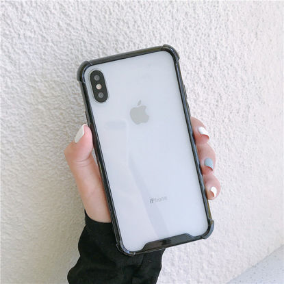 Picture of IPHONE 7 Cover Transparent Hard Case - Size: IPHONE 7