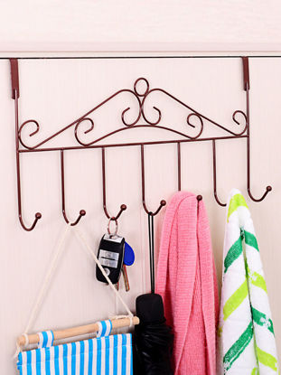 Picture of Home Wall Mounting Rack Simple Iron Art Creative Organizer