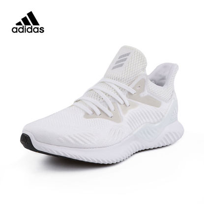 Picture of Adidas Men's Running Shoes Flyknit Breathable Lightweight Damping Comfy Shoes - Size: 40