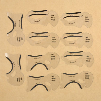 Picture of 10Pcs Eyeliner Beauty Card Eyeliner Guiding Care Makeup Tool