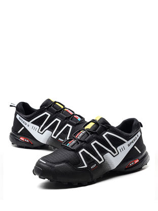 Picture of Men's Trekking Shoes Comfy Soles Durable Damping Non-Slip Outdoor Shoes - Size: 42