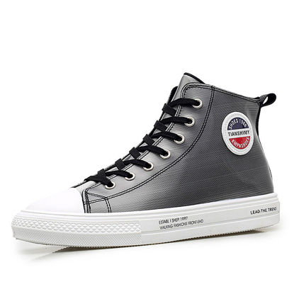 Picture of Men's Sneakers Anti-skidding Classic Ankle Shoes - Size: 43