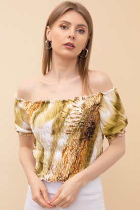 Picture of Gipeli Boat Neck Blouse Free Size