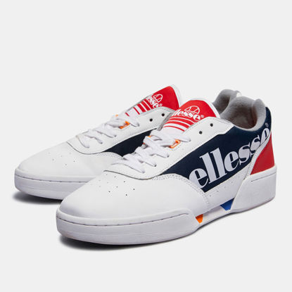 Picture of Piacentino Shoe PIACENTINO LTHR AM WHITE/NAVY/RED