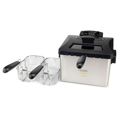 Picture of 5 liter fryer with 3 baskets