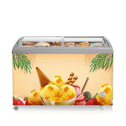 Picture of 15CF Direct Cool Chest Freezer Ice Cream Showcase