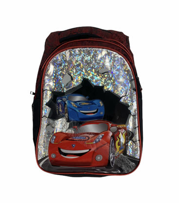 Picture of Children'S School Bag Containing A Car Drawing